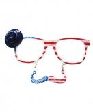 Amerikaanse snorbril