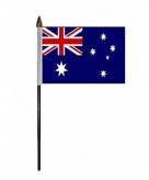 Australie vlaggetje polyester