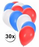 Australische ballonnen pakket 30x