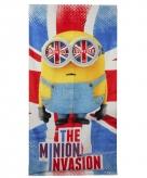 Badhanddoek van the minion invasion 70 x 140 cm