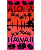 Badlaken aloha voor volwassenen 95 100 x 175