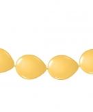 Ballon slinger goud 3 meter