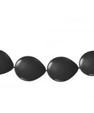 Ballon slinger zwart 3 meter