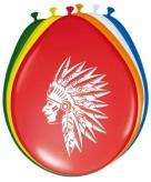 Ballonnen indianen 8 stuks
