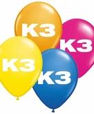 Ballonnen k3 verjaardag