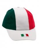 Baseball cap vlag italie