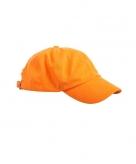 Baseballcaps in oranje kleur