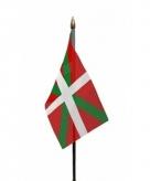 Baskenland vlaggetje polyester