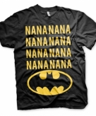 Batman t-shirt zwart voor heren