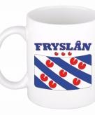 Beker mok met vlag van friesland 300 ml