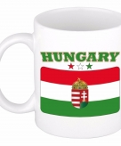 Beker mok met vlag van hongarije 300 ml