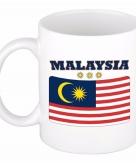 Beker mok met vlag van maleisie 300 ml