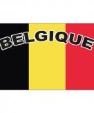 Belgie voetbal vlag