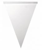 Beschrijfbare vlaggenlijn slingers vlaggetjes