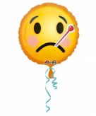 Beterschap emoticon folie ballon 43 cm