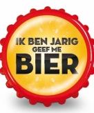 Bieropener ik ben jarig geef me bier