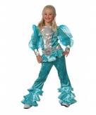 Blauw dancing queen pakje voor meiden