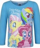 Blauw my little pony shirt voor kinderen