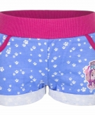 Blauw paw patrol broekje kort voor meisjes