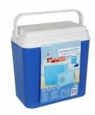 Blauwe elektrische koelboxen 22 liter