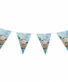 Blauwe feest slinger piraten thema 3 m