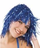 Blauwe feestpruiken