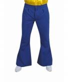 Blauwe hippie heren broeken