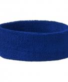 Blauwe hoofd zweetbandjes