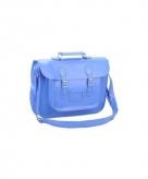 Blauwe kantoor laptoptassen