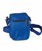 Blauwe schoudertasjes 15 cm
