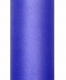 Blauwe tule stoffen 50 cm breed
