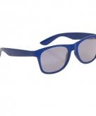 Blauwe wayfarer zonnebril voor kinderen