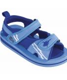 Blauwe zwemschoenen jongens baby peuter
