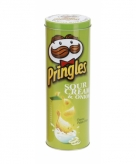 Blik pringles groen cheese onion