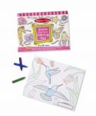 Bloemen dieren kleurboek met 50 kleurplaten voor meisjes