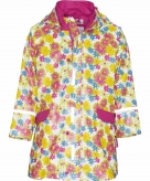 Bloemen regenjas voor kinderen