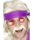 Blonde jaren 70 snor