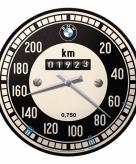Bmw wandklok tachymeter 31 cm