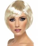 Boblijn damespruik blond