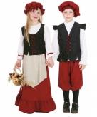 Boerinnen jurk voor meisjes