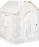 Bouwpakket kartonnen speelhuisje