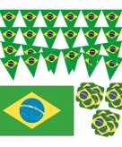 Braziliaanse decoraties versiering pakket 10114092