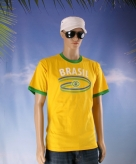 Brazilie thema shirt brasil voor heren
