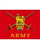 Britse leger vlag