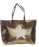 Bronzen tas met ster 50 x 30 cm