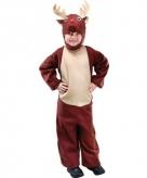 Bruin rendieren kostuum voor kids