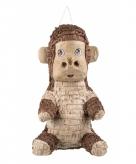Bruine aap pinata 49 cm