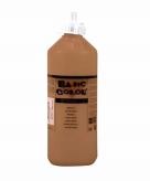 Bruine plakkaatverf tube 500 ml