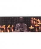 Buddha schilderij met led licht type 1