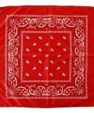 Budget rode boeren zakdoek 53 x 53 cm